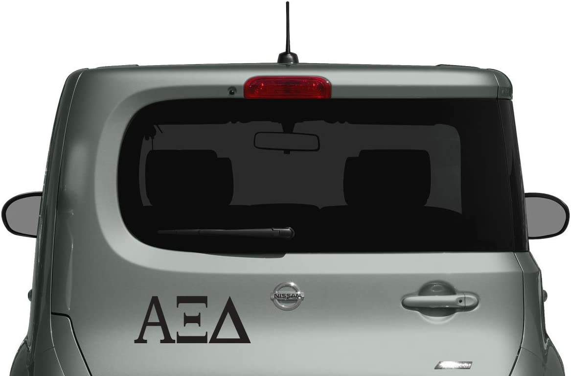 Alpha Xi Delta - Car, Truck Laptop, Macbook Decal Sticker (3 Pack)
