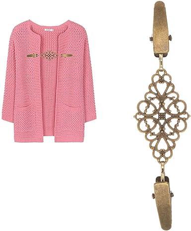 Shirt Collar Cardigan Clip Shawl Brooch Duck Clip Clasps Sweater Blouse UV