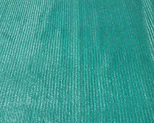 EasyShade Grn60 Sunblock Green 60% Shade Cloth UV Resistant Fabric 10ft x 5ft