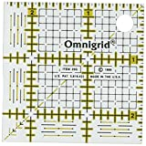 "Omnigrid R25G 2-1/2-Inch by 2-1/2 "" Grid Ruler"