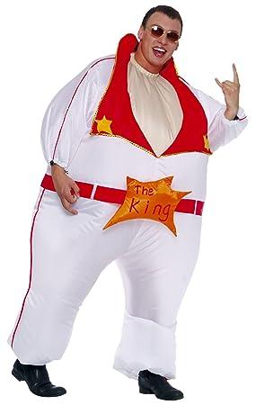 César - Disfraz hinchable de Elvis Presley para hombre ...