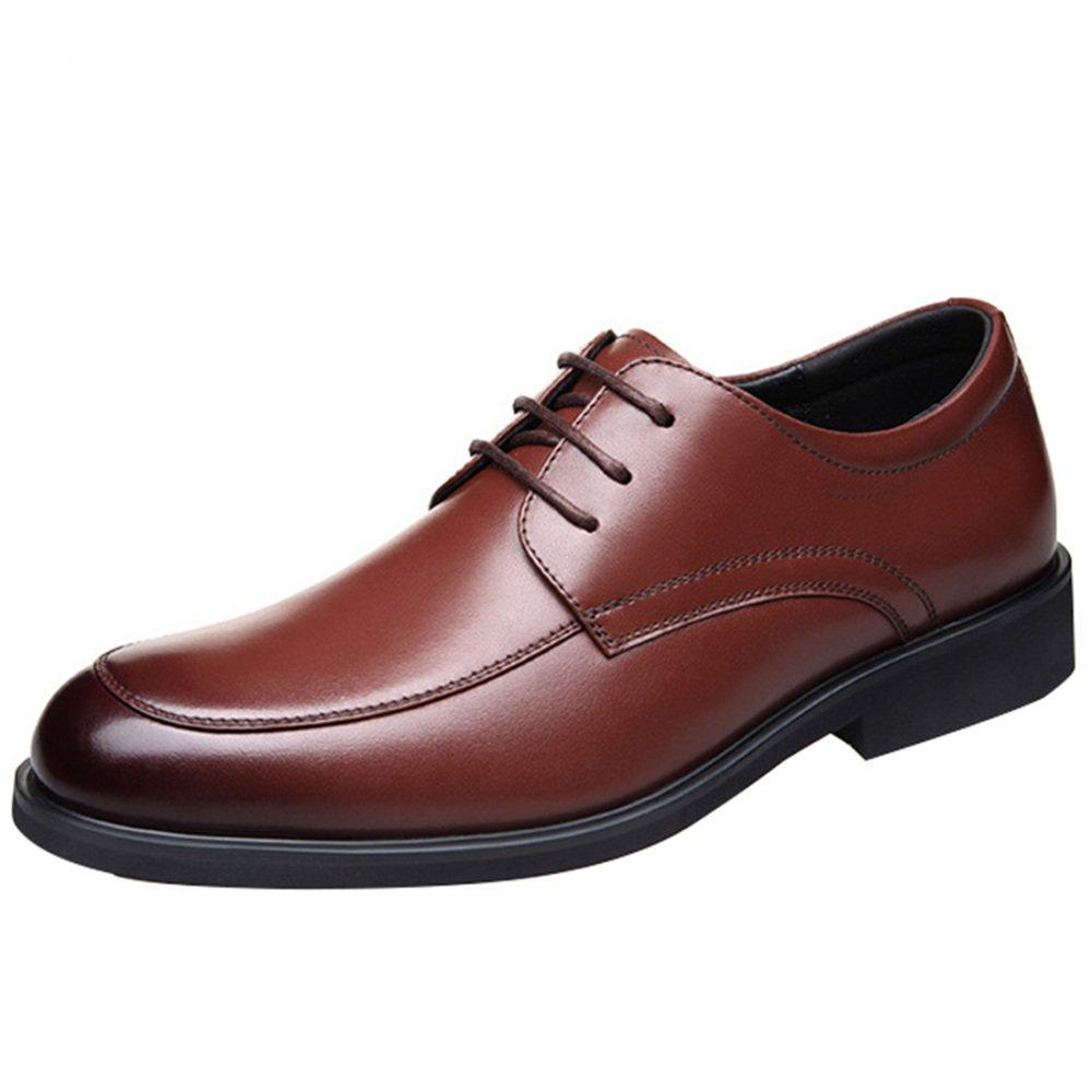 MYXUA Herren Formelle Lederschuhe Geschäft Casual Derby Schuhe