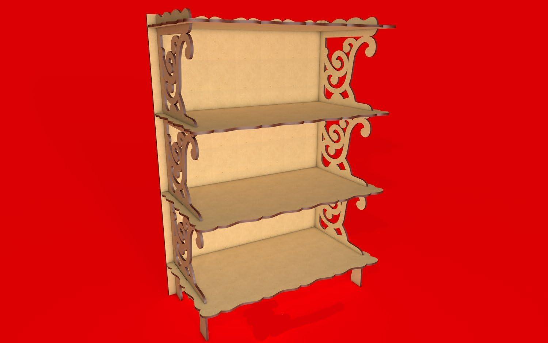 Kit para hacer estantería de madera DM para candy bar mesa dulce ...