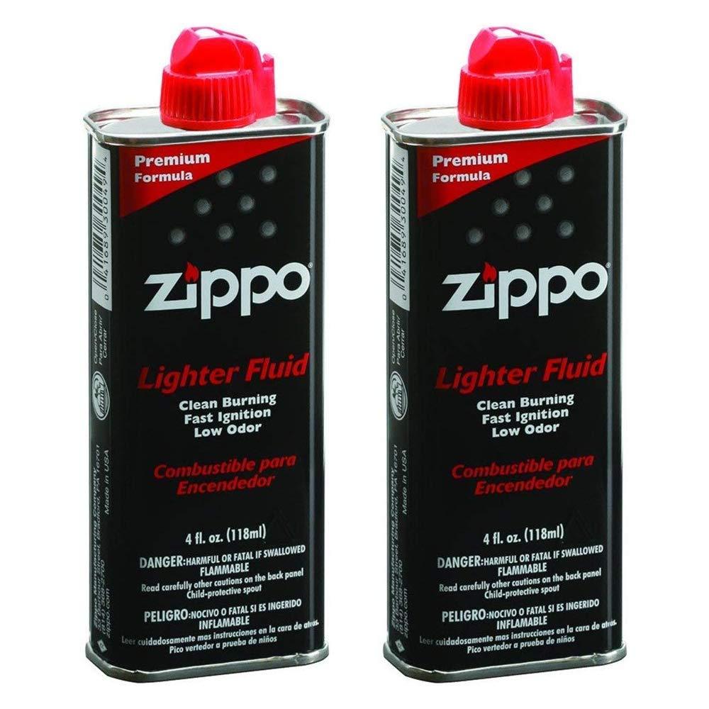Zippo 494 Lighter Fluid 4 oz (2-Pack)