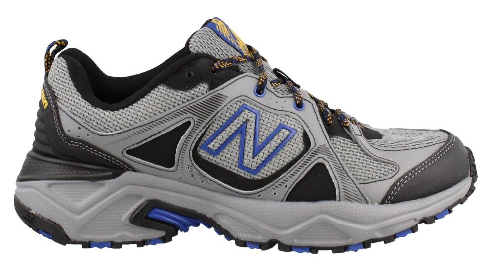 New Balance Men's 481V3 Cushioning Trail Running Shoe, Steel, 13 D US by New Balance