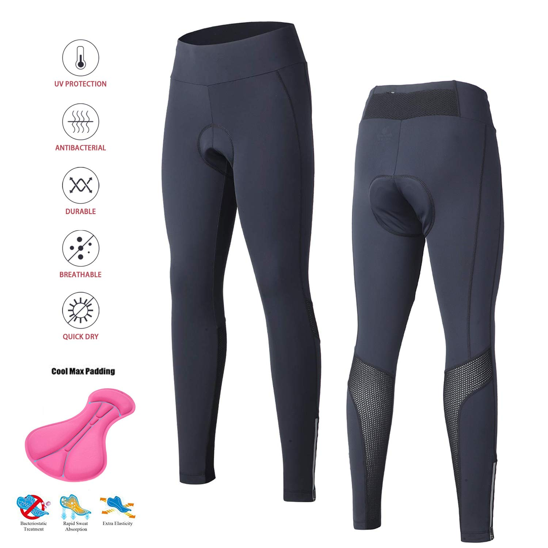 SouFace Pantaloncini da Ciclismo da Donna,Mutande Gel 3D Imbottite Bicicletta Pants Traspirante Rapido Asciutto