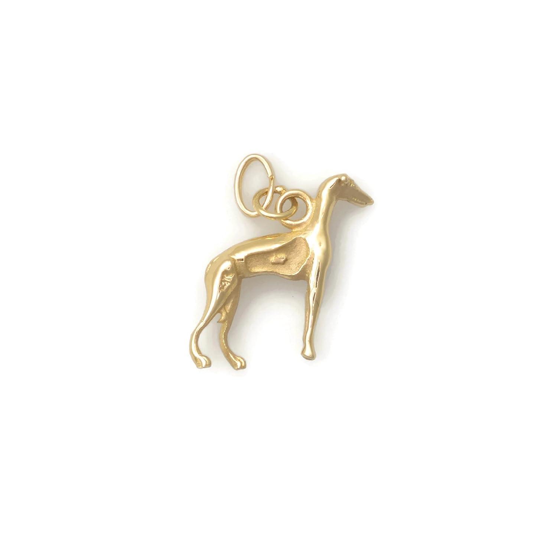 Donna Pizarro Designs 14kt Yellow Gold Greyhound Charm TQZlO