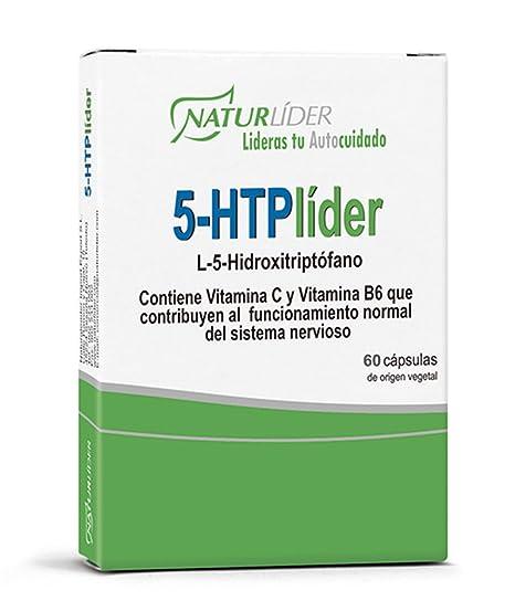 Naturlíder 5-HTPlíder Suplementos para Capacidad Mental y Estado de Ánimo - 60 Cápsulas
