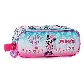 6cd23f8b5 Disney Minnie Heart Neceser de Viaje, 23 cm, 1.45 litros, Rosa: Amazon.es:  Equipaje
