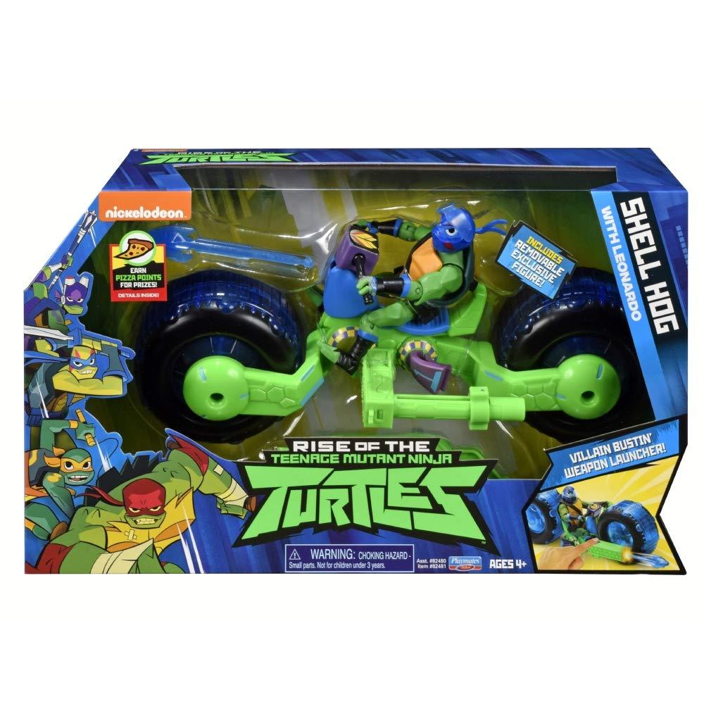 Teenage Mutant Ninja Turtles TUAB5200 - Casco de Concha con ...