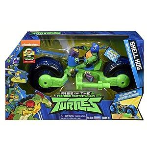 Teenage Mutant Ninja Turtles The Rise of The Vehicle with Figure - Shell Hog with Leo