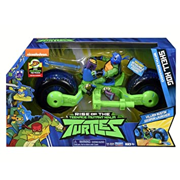 Teenage Mutant Ninja Turtles TUAB5200 - Casco de Concha con ...