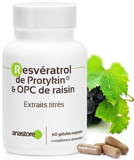 Anastore OPC de Uva y Resveratrol 60 mg - 60 Cápsulas