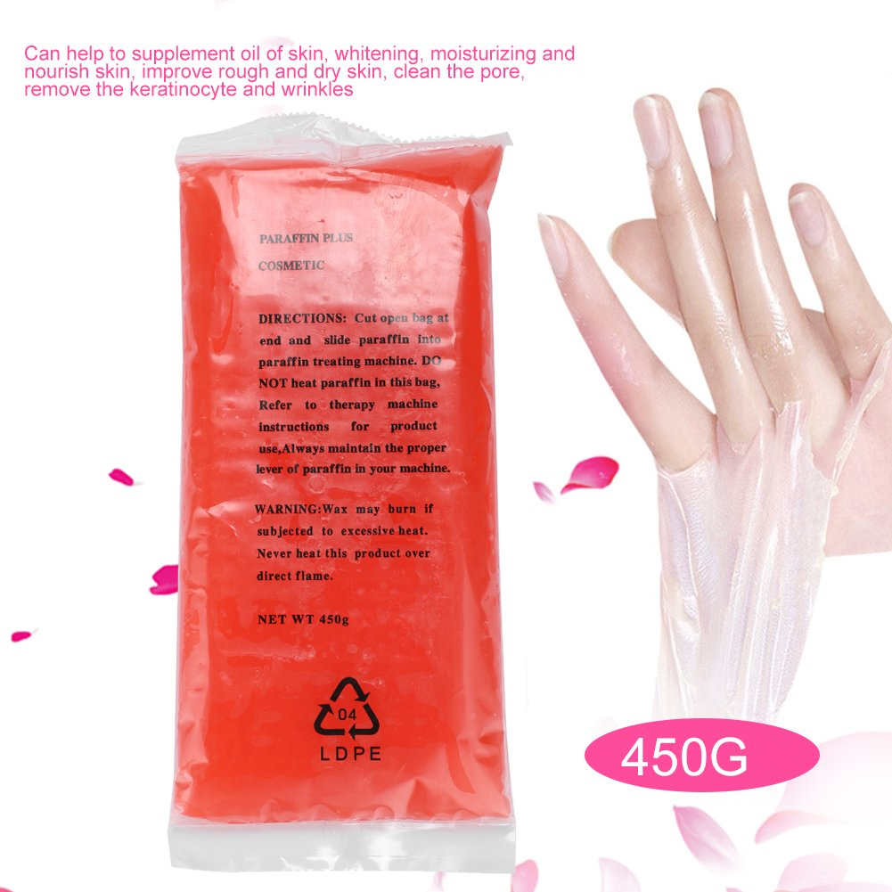 Paraffin helps moisturize the skin 60