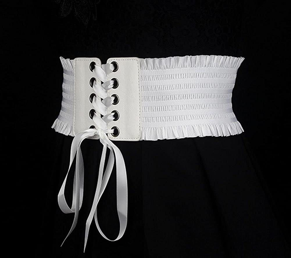 Oyccen Damen Breite G/ürtel M/ädchen Kleid Dekoration Bund Elastische Cincher Korsett