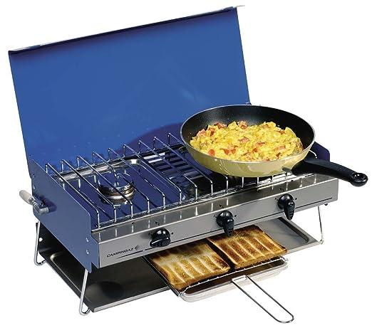 Estufa de Camping Chef - Tapa para batería de cocina (evita, Fry y ...