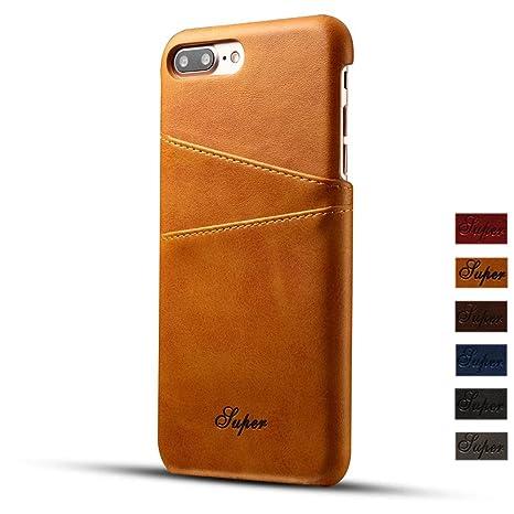 a5c331f348 iPhone 7ケース FELITAS 高級PU アイフォン7対応ケース かっこいい 復古レザー アイホン7カバー