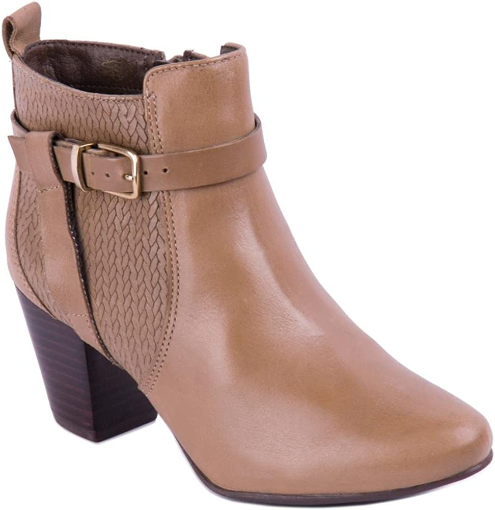 Bottero Womens Leather Ankle Boots