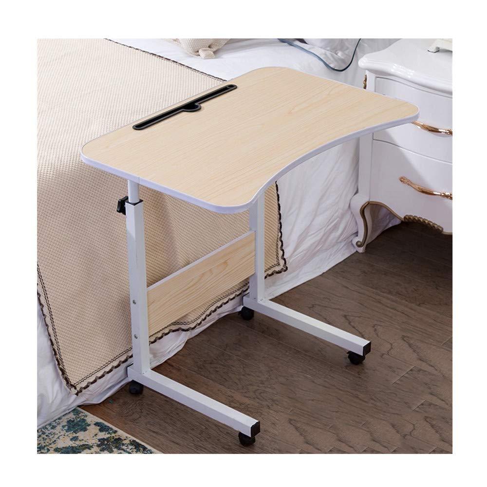 Kimanli Simple Laptop Desk Bed with Desktop Home Removable Lazy Lift Bedside Table Desk Notebook Computer Desk/Table Modern Office Study Workstation Efficient Computer Desk