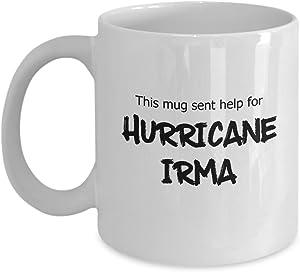 Help for Hurricane Irma White Mug