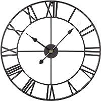 Searchyou - 60CM Relojes de Pared de Metal