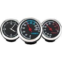 WINOMO Set de Reloj e Higrómetro y Termómetro