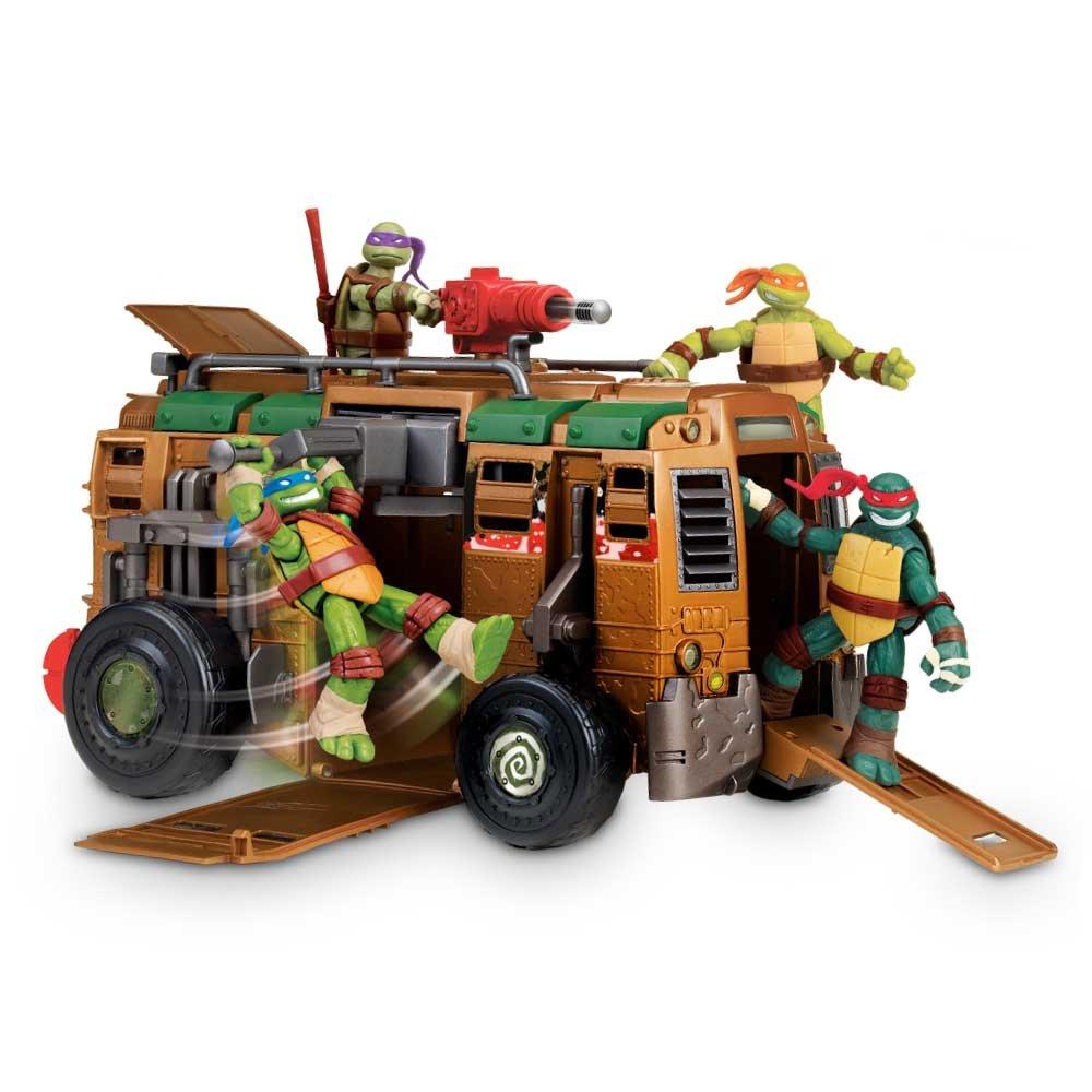 Tortugas Ninja - Furgoneta Shell y figura, modelos surtidos (Giochi Preziosi 94010)