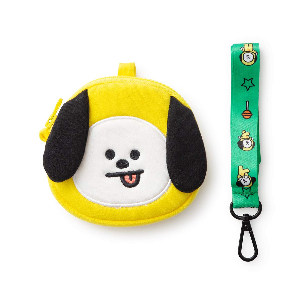 Character Neck Strap Coin Purse BT21 Official Merchandise by Line Friends