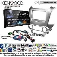 Volunteer Audio Kenwood DDX9704S Double Din Radio Install Kit with Apple Carplay Android Auto Fits 2015 Chevrolet Tahoe, Suburban