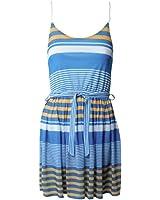 Damen Kleid blau,rot Größe S,M,L,XL Sommerkleid,Umstandskleid,Trägerkleid Größe S-XL