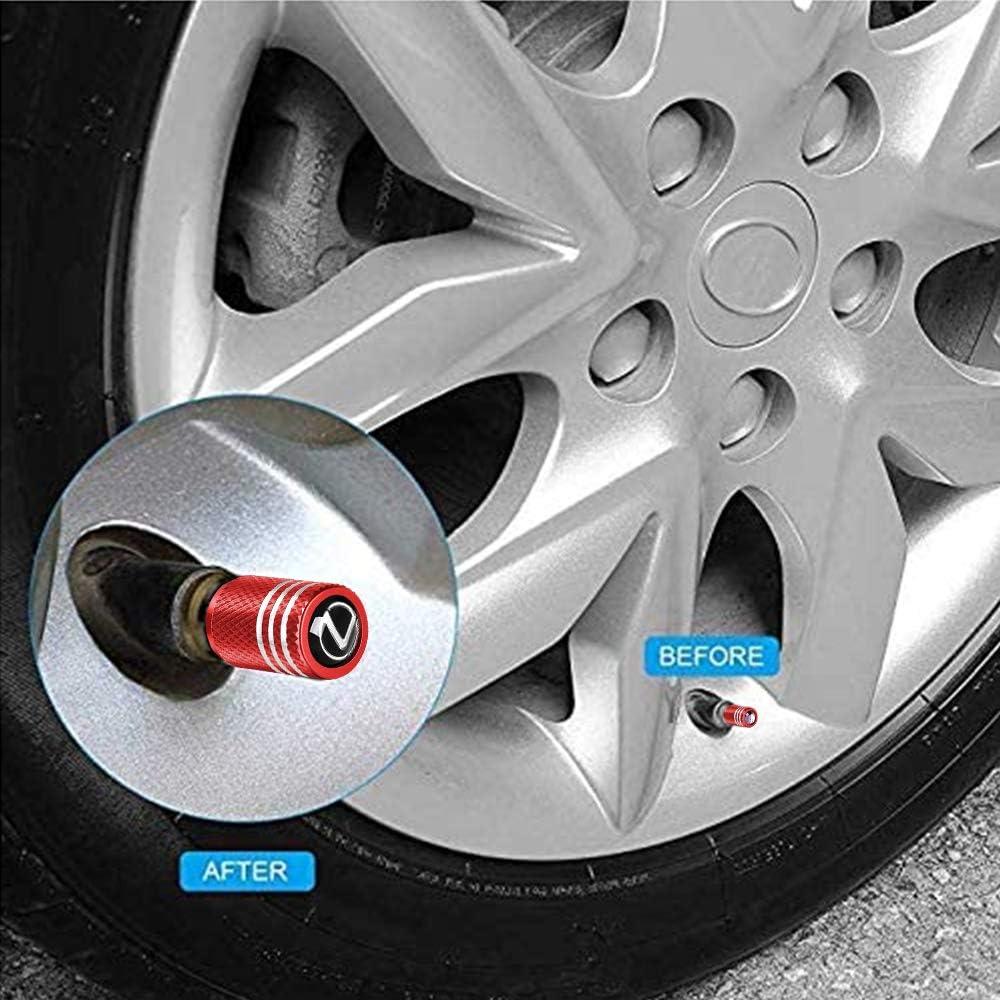 N2 4 Pcs Metal Car Wheel Tire Valve Stem Caps for Mercedes Benz C E S M CLS CLK GLK GL A B AMG GLS GLE Logo Styling Decoration Accessories.