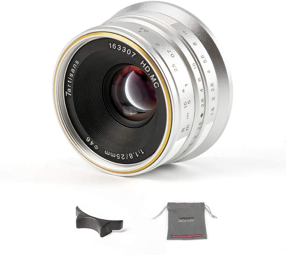 7artisans 25mm F1 8 Aps C Manuelles Feste Objektiv Für Kamera