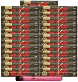 RAW Black Natural Unrefined King Size Slim Rolling Papers (25 Packs) with Rolling Paper Depot XL Kewl Tube