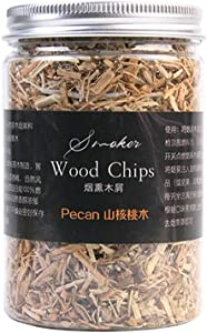 Ruby Lil Smoking Chips,Kiln Dried Wood Chips for Smokers,Apple, Cherry, Pecan, Litchi, Peach, Oak,BBQ Wood Chunks, 100 Percent Natural Extra Fine Wood Smoker Sawdust Shavings,Walnut