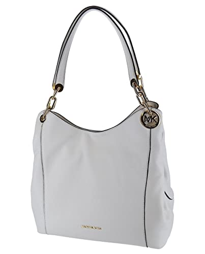 98617dc5fa MICHAEL Michael Kors Fulton Large Hobo - Optic White  Amazon.com.au ...