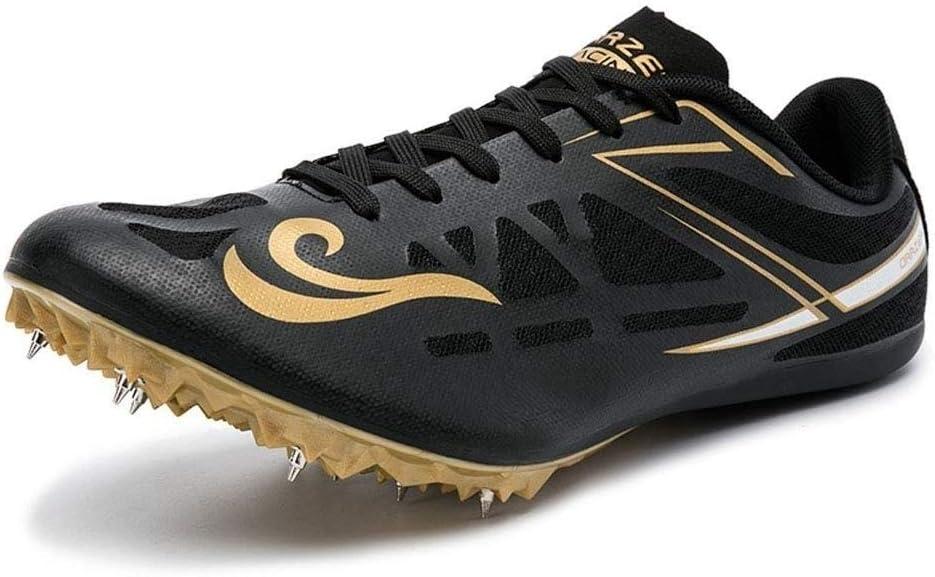 YISHIO De Pista y Campo de fútbol Zapatos Botas bajo-Top los Hombres, jóvenes Cubierta con Tacos FG Profesional al Aire Libre Rugby/AG Entrenamiento Runing Deportes Zapatillas Tenis