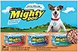 Purina Mighty Dog Ground Wet Dog Food Variety Pack – (24) 5.5 oz. Cans For Sale