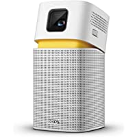 BenQ GV1 Portable Projector for Wireless Entertainment with Smart App, Bluetooth Speaker, USB-C