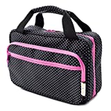 Versatile Travel Cosmetic Bag - Hanging Traveling Toiletry Bag Organizer And Storage