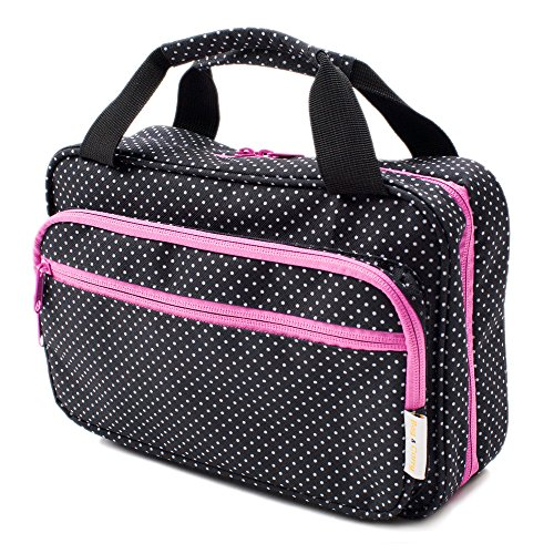 Versatile Travel Cosmetic Bag - Hanging Toiletry Organizer W