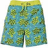 Sun Smarties Baby UPF 50+ Turtle Boardshort Swim