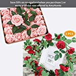 AmyHomie-Pack-of-50-Real-Looking-Artificial-Roses-wStem-for-DIY-Wedding-Bouquets-Centerpieces-Arrangements-Party-Baby-Shower-Home-Decorations