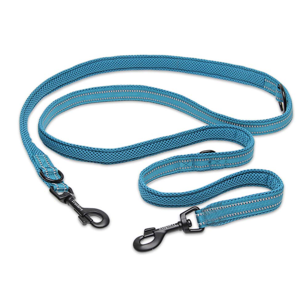 bluee-B M bluee-B M Dog Leash,Hands Strap Dog Training Walking Belt, Reflective Belt,Suitable for Small & Large Dogs-bluee-b M