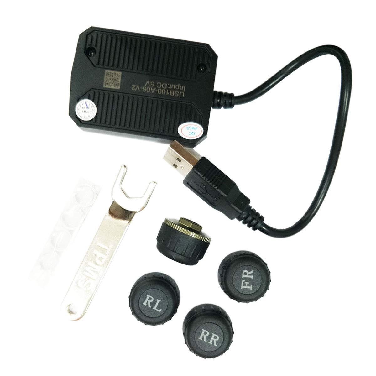 ATOTO AC-UTP1 USB TPMS Pneu Pression Surveillance Systè me de capteurs Spé cifié e pour A6/A6y