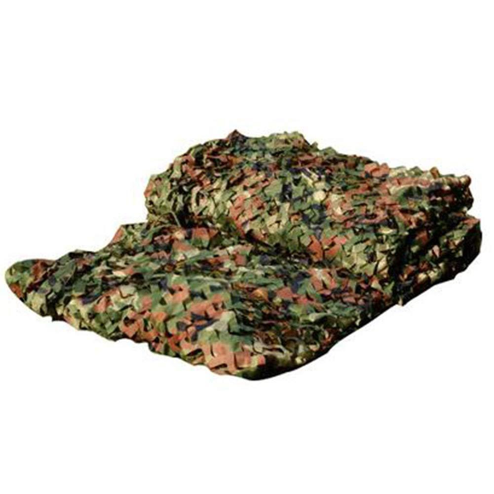 vert 2x4m GZHENH Filet De Camouflage Cryptage Crème Solaire Durable Anti-UV Jungle Cacher Tissu Oxford De Plein Air, Taille 35 (Couleur   vert, Taille   5x5m)
