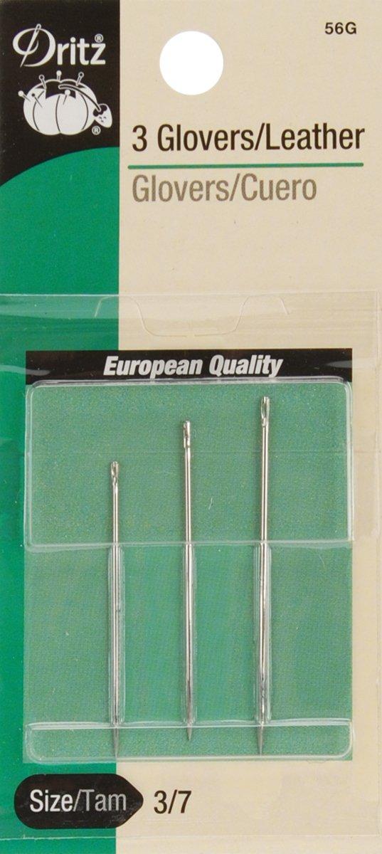 Dritz 3-Piece Glovers/Leather Hand Needles, Size 3/7 Prym Consumer USA 56G