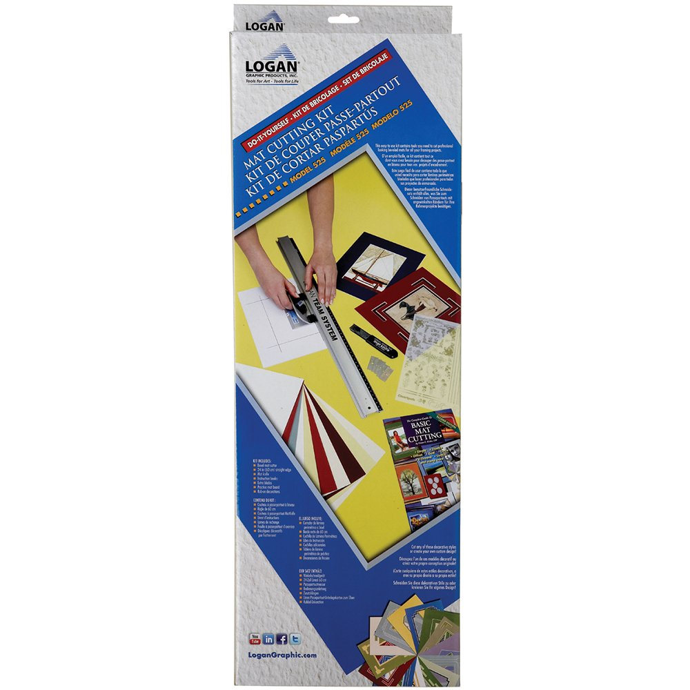 Logan LOG525 LOGAN GRAPHIC PRODUCTS Mat Cutting Kit Notions - In Network