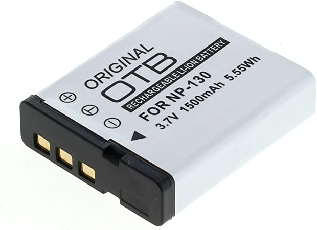 Otb Akku Für Casio Np 130 Li Ion Schwarz Kamera