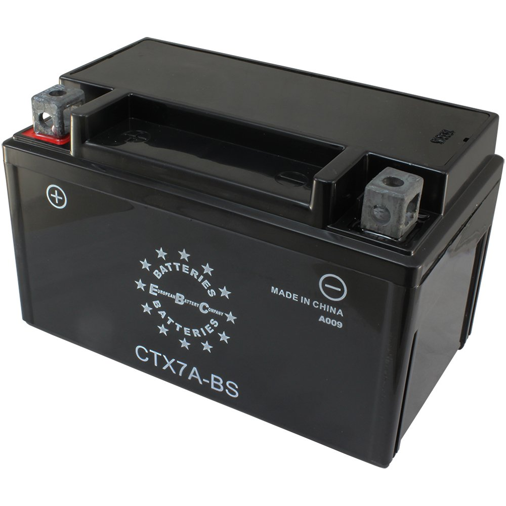 EBC CTX7ABS 12V 7Ah 95CCA Motorcycle Battery EBC Battery