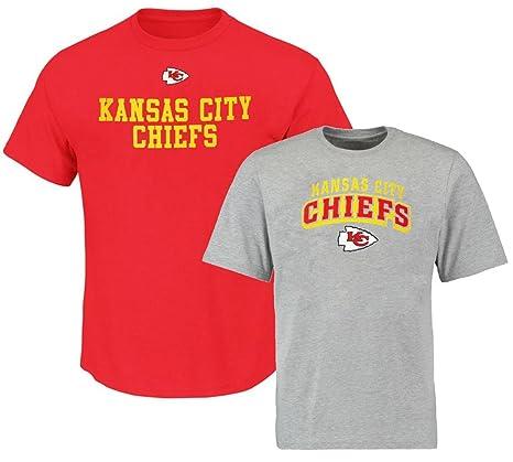68e102317 Amazon.com   Kansas City Chiefs NFL Mens 2 Pack Shirt Combo Big ...